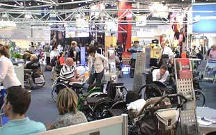 Wheelchair Useres testing the new Technology